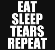 Eat Sleep Tears Repeat by WRE comics