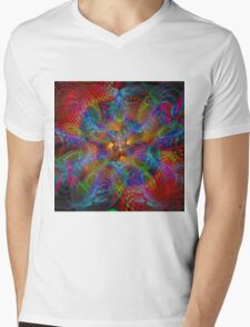 Jagged edge space time Mens V-Neck T-Shirt