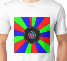 Colorful rays Unisex T-Shirt