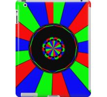 Colorful rays iPad Case/Skin