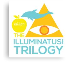 The Illuminatus! Trilogy Canvas Print