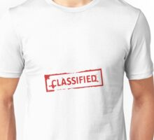 Classified Stamp Unisex T-Shirt
