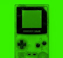 Gameboy Colour-Green by Ben Hamilton