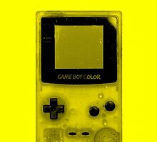 Gameboy Colour-Yellow by Ben Hamilton
