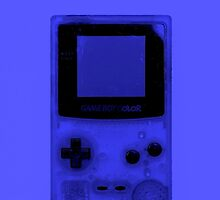 Gameboy Colour-Blue by Ben Hamilton