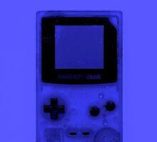 Gameboy Colour-Blue by Ben Hamilton