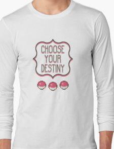 Pokémon - Choose Your Destiny Long Sleeve T-Shirt