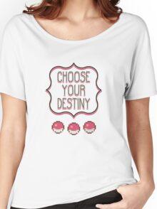 Pokémon - Choose Your Destiny Women's Relaxed Fit T-Shirt