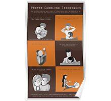 Proper Cuddling Techniques (Orange) Poster