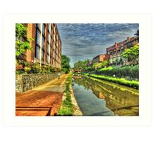 The C & O Canal Art Print