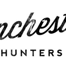 The Winchesters Vintage Logo 2 Sticker