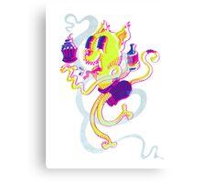 Crusty Cat Canvas Print