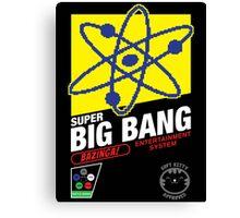 Super Big Bang! Stickers & Prints Canvas Print