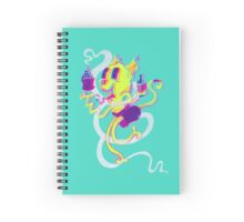 Crusty Cat Spiral Notebook