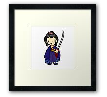 I'm going to show you how to kill a god.  Framed Print