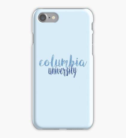 Columbia University iPhone Case/Skin