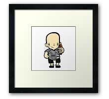 Pugsley Framed Print