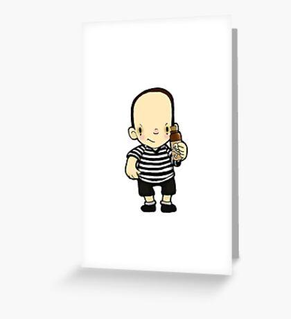Pugsley Greeting Card