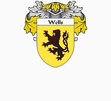 Wells Coat of Arms / Wells Family Crest Unisex T-Shirt