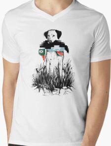 Famous Hunters Mens V-Neck T-Shirt