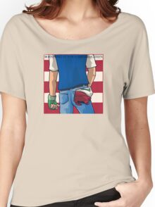 Born in Pallet Town Women's Relaxed Fit T-Shirt