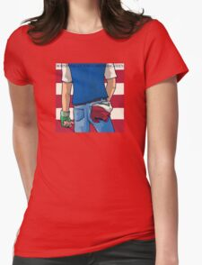 Born in Pallet Town Womens Fitted T-Shirt