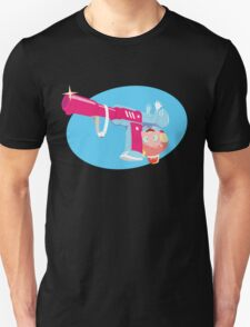 Space Patrol Luluco Judgement Gun Morphing Unisex T-Shirt