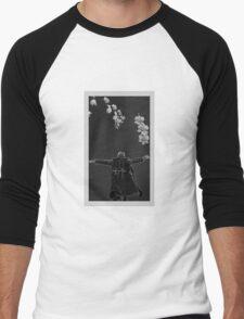 Falling is just like flying. Men's Baseball ¾ T-Shirt