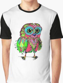 Psychadelic owl ~ Graphic T-Shirt
