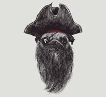 Capt. Blackbone the pugrate | Unisex T-Shirt