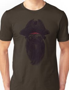 Capt. Blackbone the pugrate Unisex T-Shirt