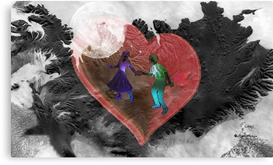 Moon dance-  Art + Products Design  by haya1812