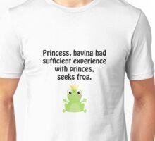 Princess Frog Unisex T-Shirt