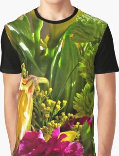 Mixed Bouquet Graphic T-Shirt
