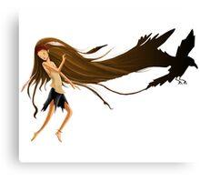 The nature dancer Canvas Print