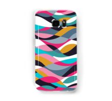 Abstract Waves Samsung Galaxy Case/Skin