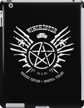Winchester Coat of Arms (white logo) by fixedinpost
