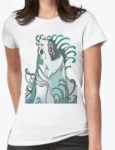 megalodon, great white, shark attack T-Shirt