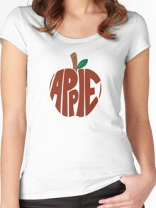 Type O' Red Apple Women's Fitted Scoop T-Shirt