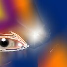 Eye in Lights by cherie hanson