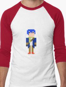 Cozy (16 Bit) Men's Baseball ¾ T-Shirt