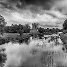 Trim Castle and the River Boyne by Martina Fagan