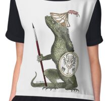 Dragon Artist Chiffon Top