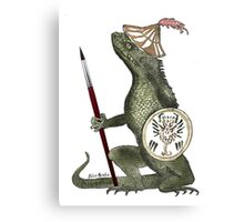 Dragon Artist Canvas Print