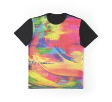 Rainbow Circled Graphic T-Shirt