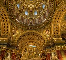 St.Stephens basilica Budapest by FLYINGSCOTSMAN