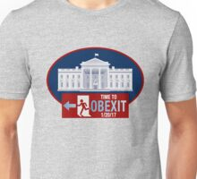 OBEXIT - End of Obama Term - Impeach Obama - 2016 Elections - Politically Incorrect - EXIT Obama Unisex T-Shirt