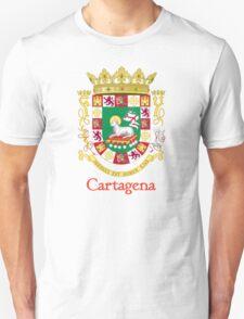 Cartagena Shield of Puerto Rico Unisex T-Shirt