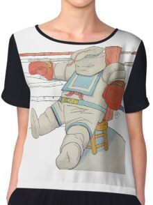 Stay Puft in the Ring Chiffon Top