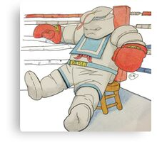 Stay Puft in the Ring Canvas Print